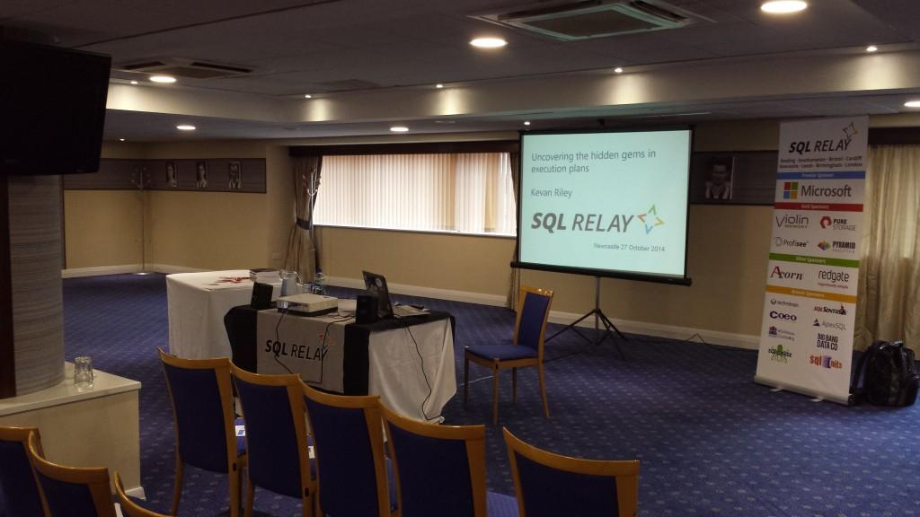 Newcastle SQL Relay 2014