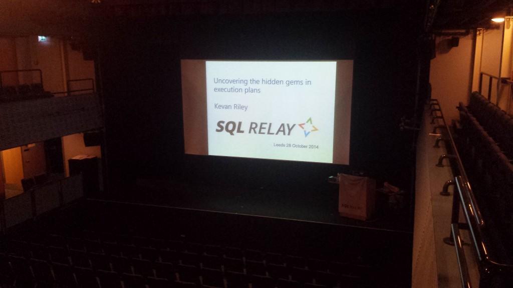 Leeds SQL Relay 2014